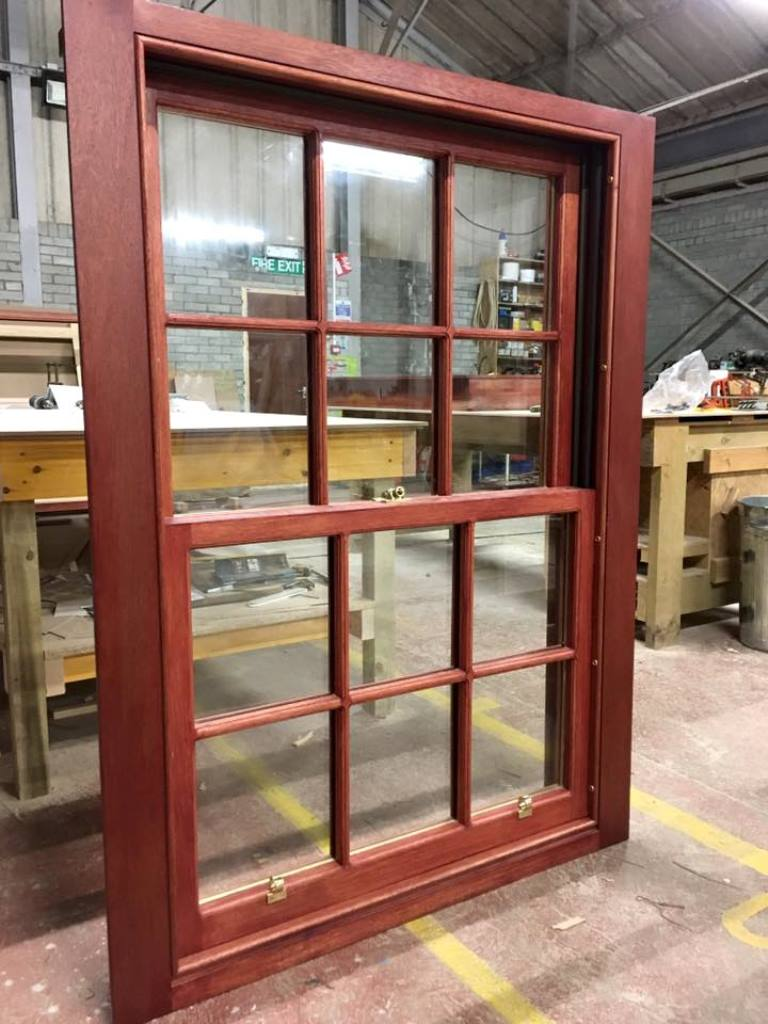 Bespoke sash and case wooden windows